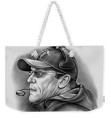 Ron Rivera Weekender Tote Bag by Greg Joens