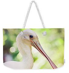 Roseate Spoonbill Weekender Tote Bag by Heather Applegate