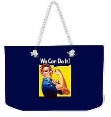 Rosie The Rivetor Weekender Tote Bag by War Is Hell Store