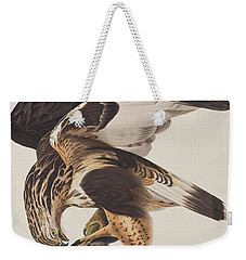 Rough Legged Falcon Weekender Tote Bag by John James Audubon