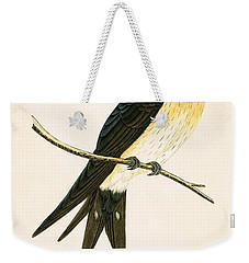Rufous Swallow Weekender Tote Bag by English School