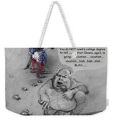 Rush Limbaugh After Obama  Weekender Tote Bag by Ylli Haruni