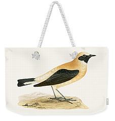 Russet Wheatear Weekender Tote Bag by English School