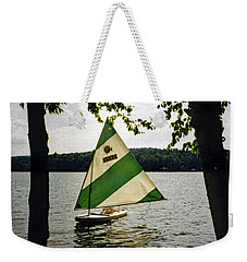 Sailing On Lake Dunmore No. 1 Weekender Tote Bag by Sandy Taylor