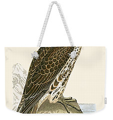 Saker Falcon Weekender Tote Bag by English School