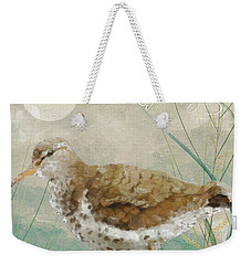Sandpiper II Weekender Tote Bag by Mindy Sommers