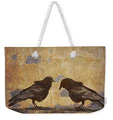 Santa Fe Crows Weekender Tote Bag by Carol Leigh