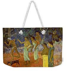 Scene From Tahitian Life Weekender Tote Bag by Paul Gauguin