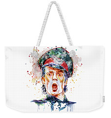 Scott Weiland Weekender Tote Bag by Marian Voicu