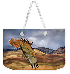 Scouting The Foothills Weekender Tote Bag by Donna Kennedy
