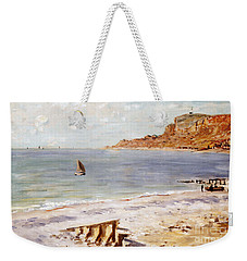 Seascape At Sainte Adresse  Weekender Tote Bag by Claude Monet