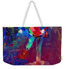 Serena Williams Return Explosion Weekender Tote Bag by Brian Reaves