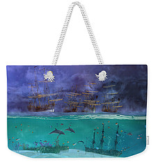 Serenity Point Weekender Tote Bag by Betsy Knapp