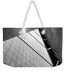 Sharp Angles Weekender Tote Bag by Martin Newman