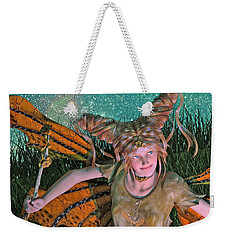 A Mind For Knowing Weekender Tote Bag by Betsy Knapp