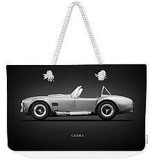Shelby Cobra 427 Sc 1965 Weekender Tote Bag by Mark Rogan