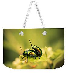Shiny Pair Weekender Tote Bag by Shane Holsclaw