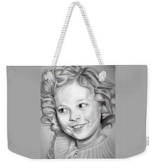 Shirley Temple Weekender Tote Bag by Fred Larucci