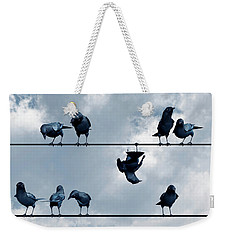 Show Off Weekender Tote Bag by Cynthia Decker