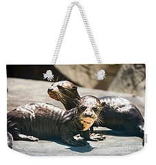 Siblings Weekender Tote Bag by Jamie Pham