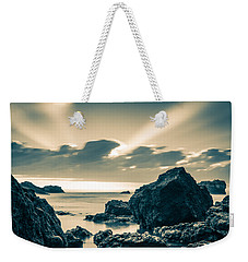 Weekender Tote Bag featuring the photograph Silver Moment by Thierry Bouriat