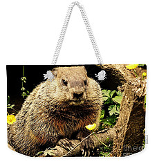Sittin Among The Buttercups Weekender Tote Bag by Tami Quigley
