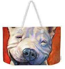 Smile Weekender Tote Bag by Sean ODaniels