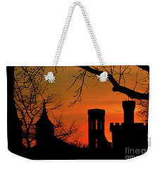 Smithsonian Castle Weekender Tote Bag by Luv Photography