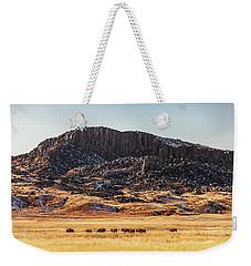 Snake Butte Weekender Tote Bag by Todd Klassy