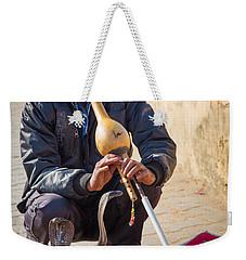 Snake Charmer Weekender Tote Bag by Inge Johnsson