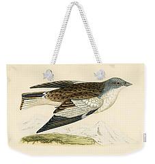 Snow Finch Weekender Tote Bag by English School