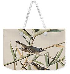 Solitary Flycatcher Or Vireo Weekender Tote Bag by John James Audubon