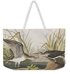Solitary Sandpiper Weekender Tote Bag by John James Audubon