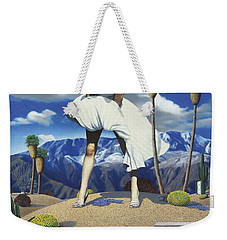 Some Like It Hot Weekender Tote Bag by Snake Jagger
