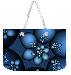 Something Blue Weekender Tote Bag by Jutta Maria Pusl