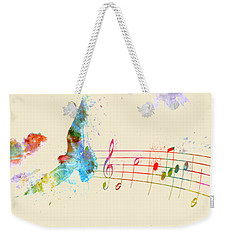 Somewhere Over The Rainbow Weekender Tote Bag by Nikki Smith