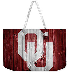 Sooners Barn Door Weekender Tote Bag by Dan Sproul