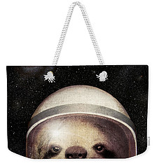 Space Sloth Weekender Tote Bag by Eric Fan