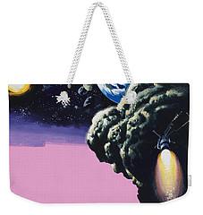 Space Weekender Tote Bag by Wilf Hardy