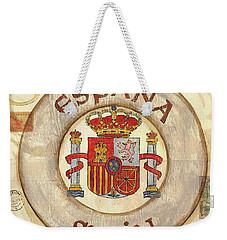 Spain Coat Of Arms Weekender Tote Bag by Debbie DeWitt