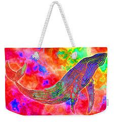 Spirit Whale Weekender Tote Bag by Nick Gustafson