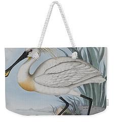 Spoonbill Weekender Tote Bag by John Gould