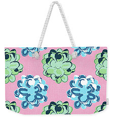 Spring Succulents- Art By Linda Woods Weekender Tote Bag by Linda Woods
