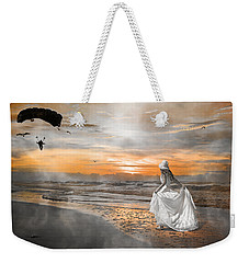 Standing By My Word Weekender Tote Bag by Betsy Knapp