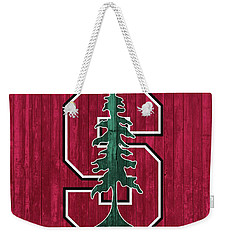 Stanford Barn Door Weekender Tote Bag by Dan Sproul