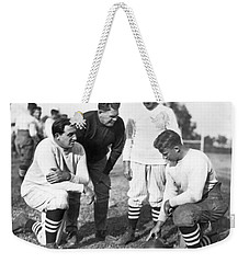 Stanford Coach Pop Warner Weekender Tote Bag by Underwood Archives