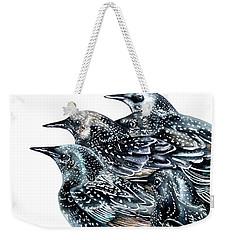 Starlings Weekender Tote Bag by Marie Burke