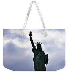 Statue Of Liberty May 2016 Weekender Tote Bag by Sandy Taylor