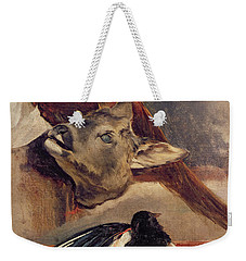 Still Life Of Game Weekender Tote Bag by Theodore Gericault