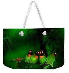 Strange Love Weekender Tote Bag by Carol Cavalaris